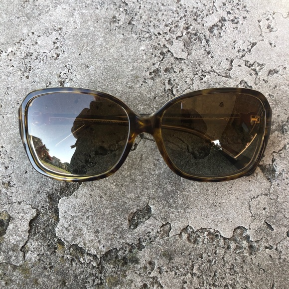 Coach Accessories - Coach Frances Sunglasses in Tortoise/Crystal
